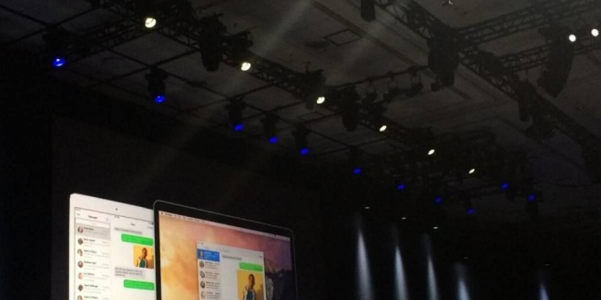 Integración total del iPhone con OS X Yosemite #WWDC2014