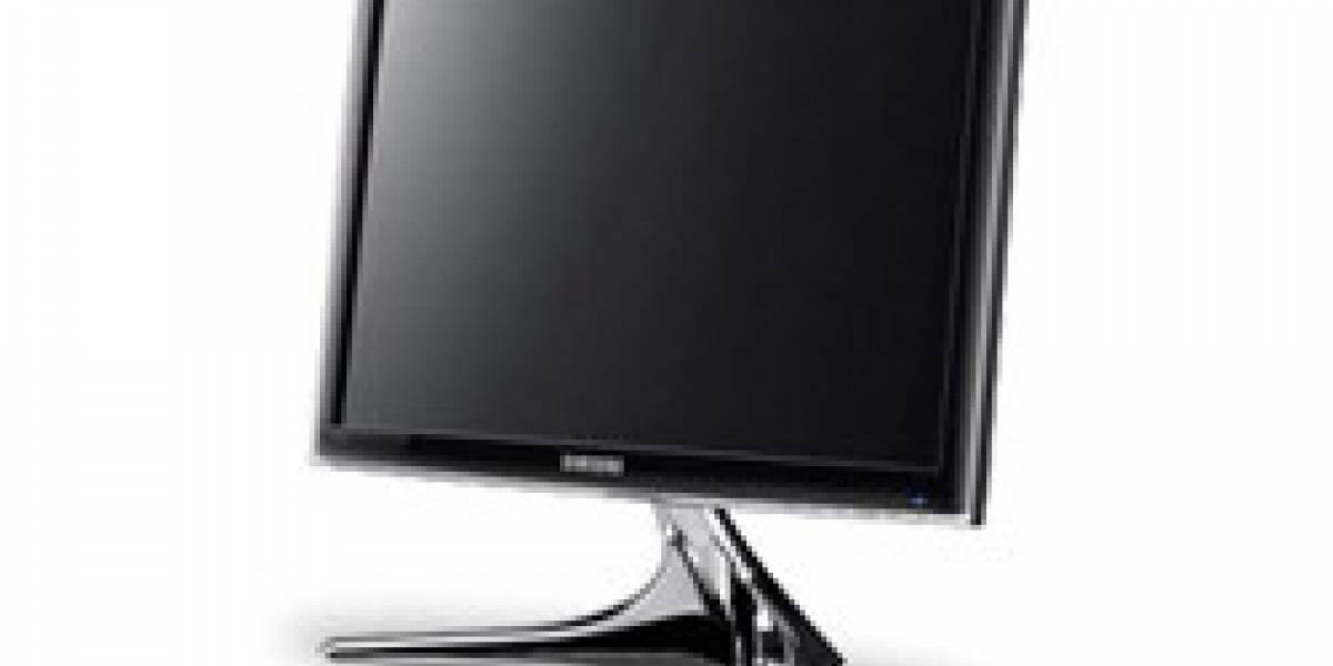 Samsung presenta monitores LED amigables con el medio ambiente