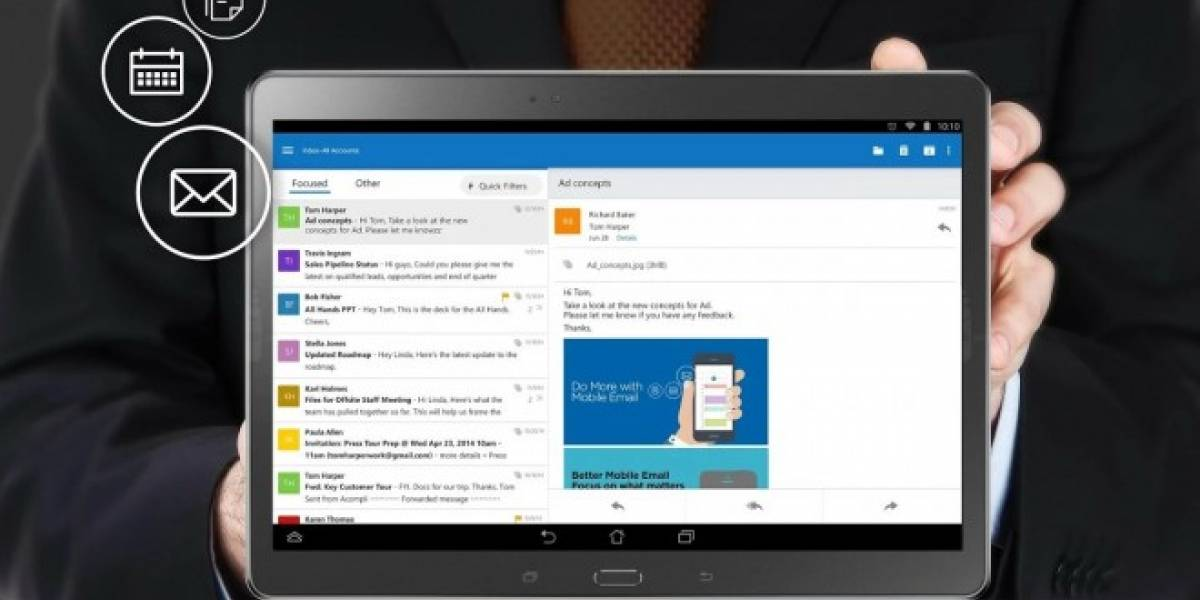 A Outlook para iOS le ha ido tan bien que ya supera a Gmail en el ranking de apps