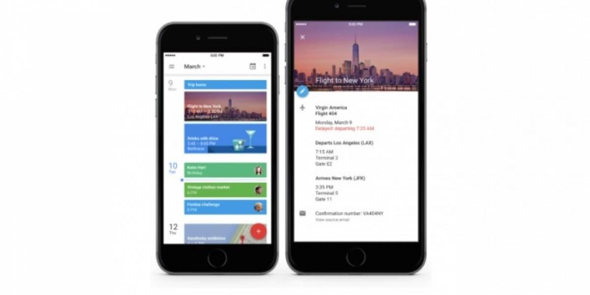 Google Calendar ya está disponible para el iPhone