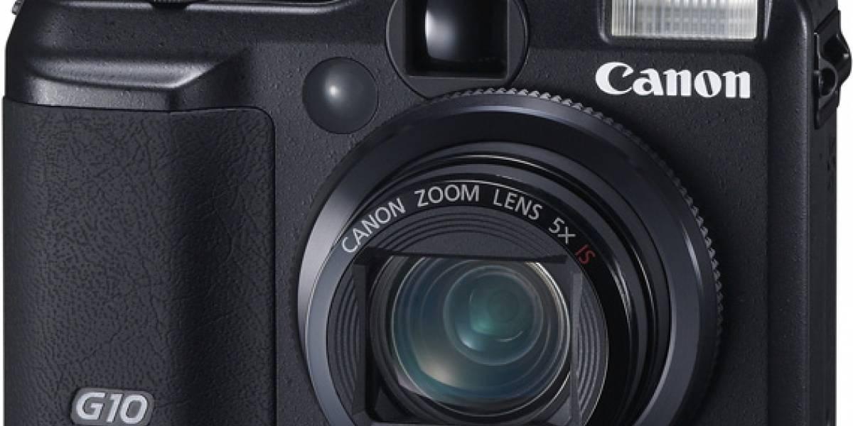 Canon PowerShot G10, delgada y profesional