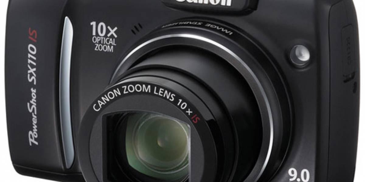 Canon SX110 IS: Cámara bridge con aires de compacta