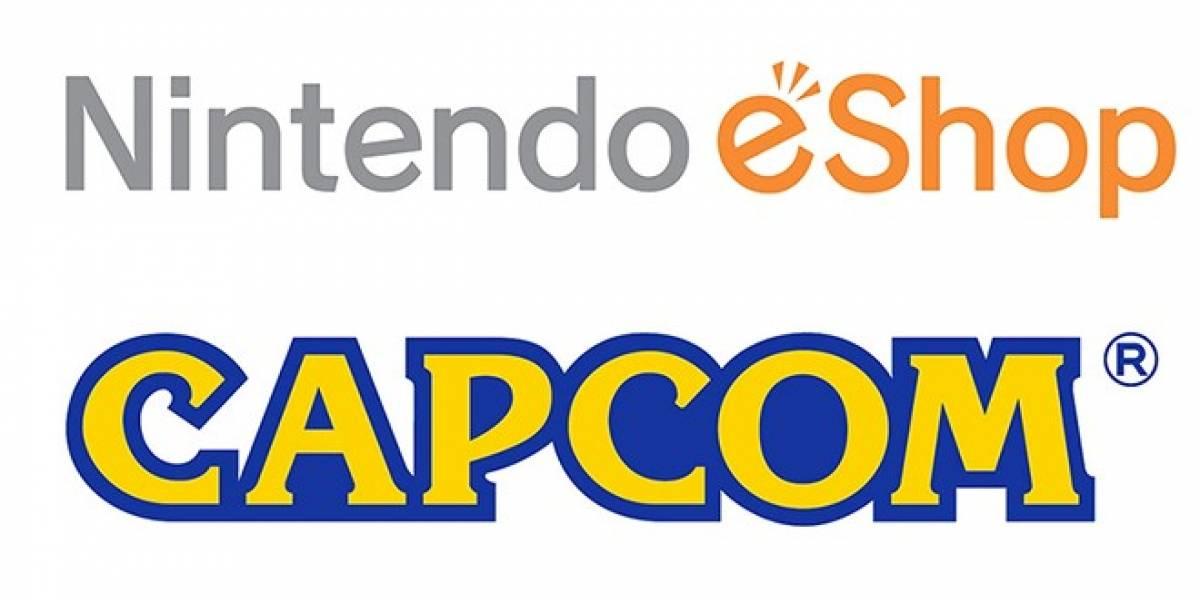 Capcom también lanzará sus juegos a través de la Nintendo eShop