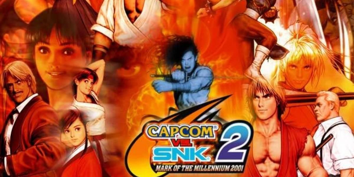 Capcom vs. SNK 2 estaría disponible muy pronto para PSN