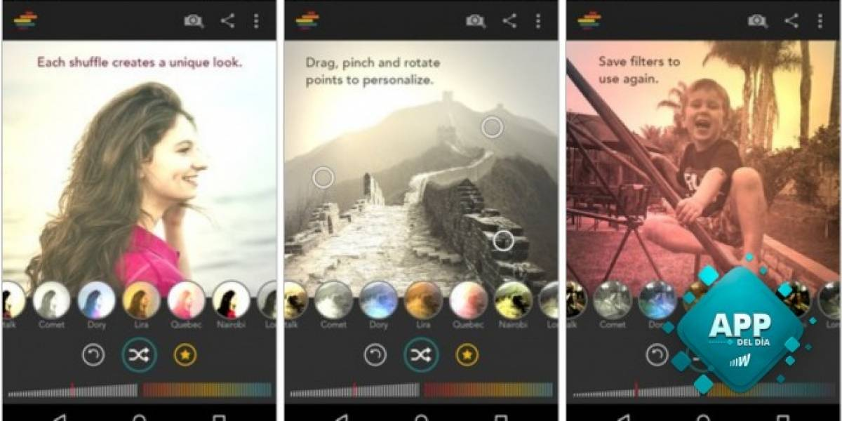 Diseña tus propios filtros y dale vida a tus fotografías con Shift [App del día]