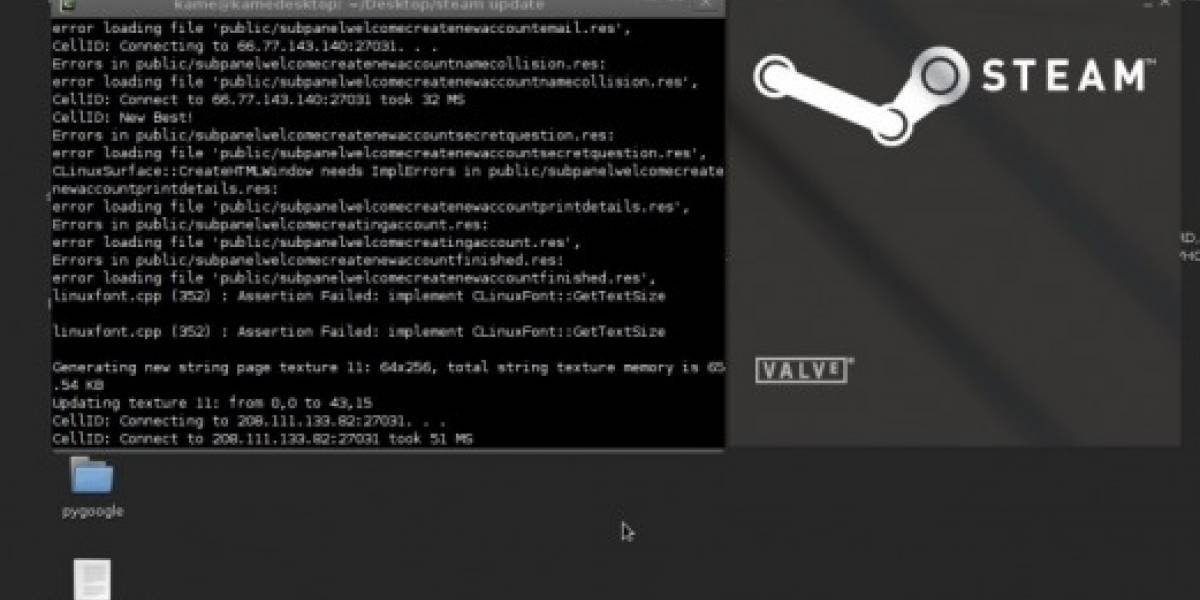 Steam para Linux se deja ver