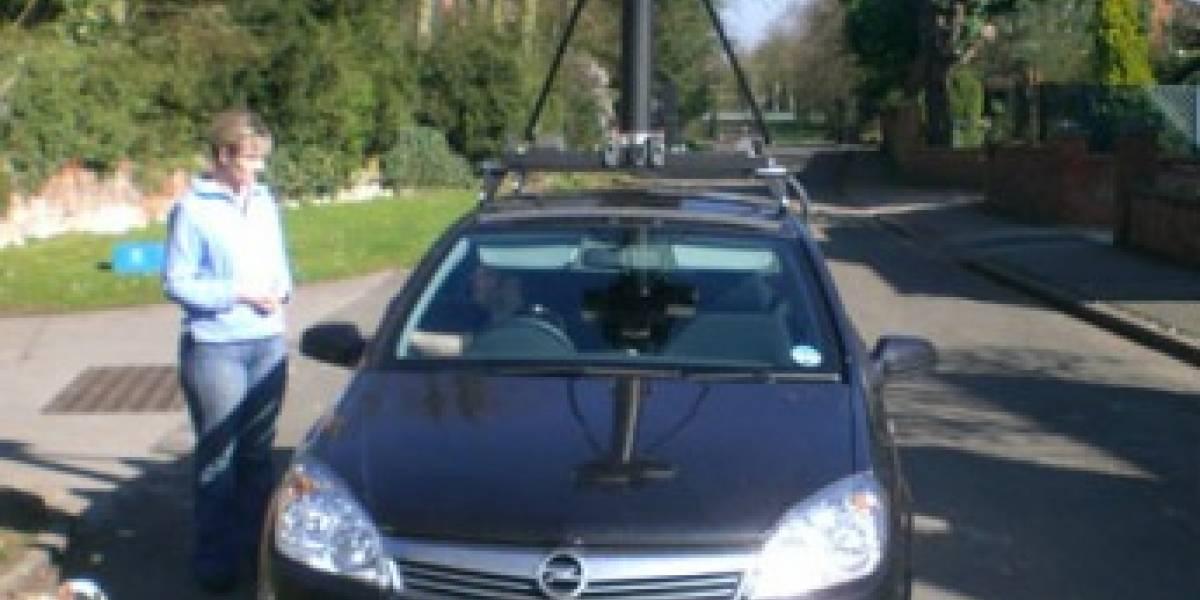 Autos de Google Streetview recolectaron información sobre redes WiFi