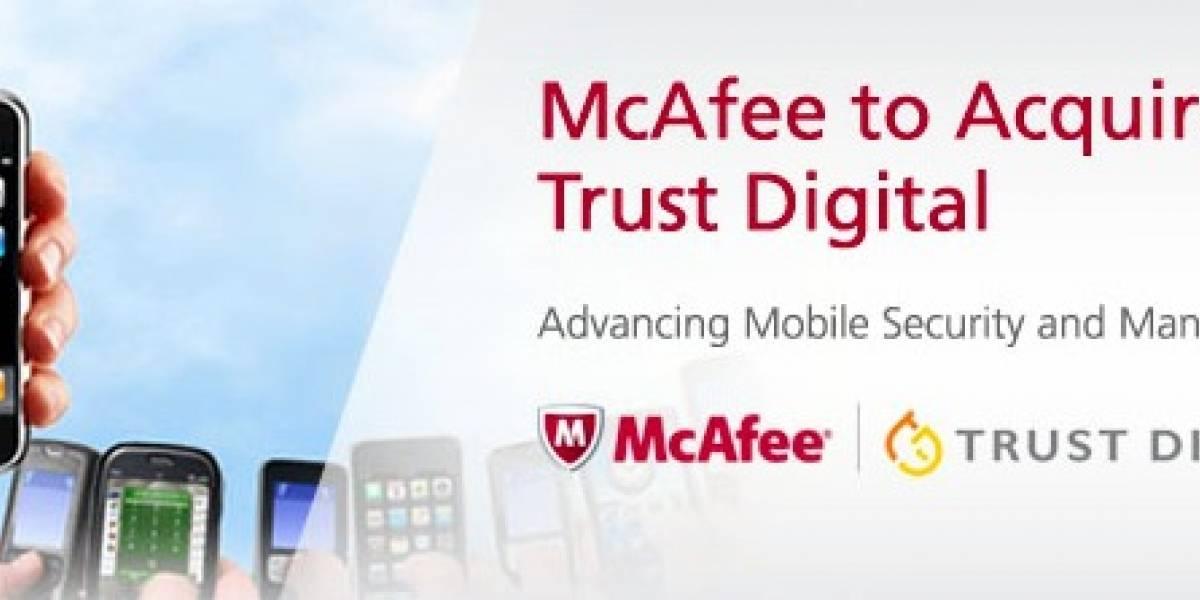 McAfee quiere incursionar en la protección de smartphones