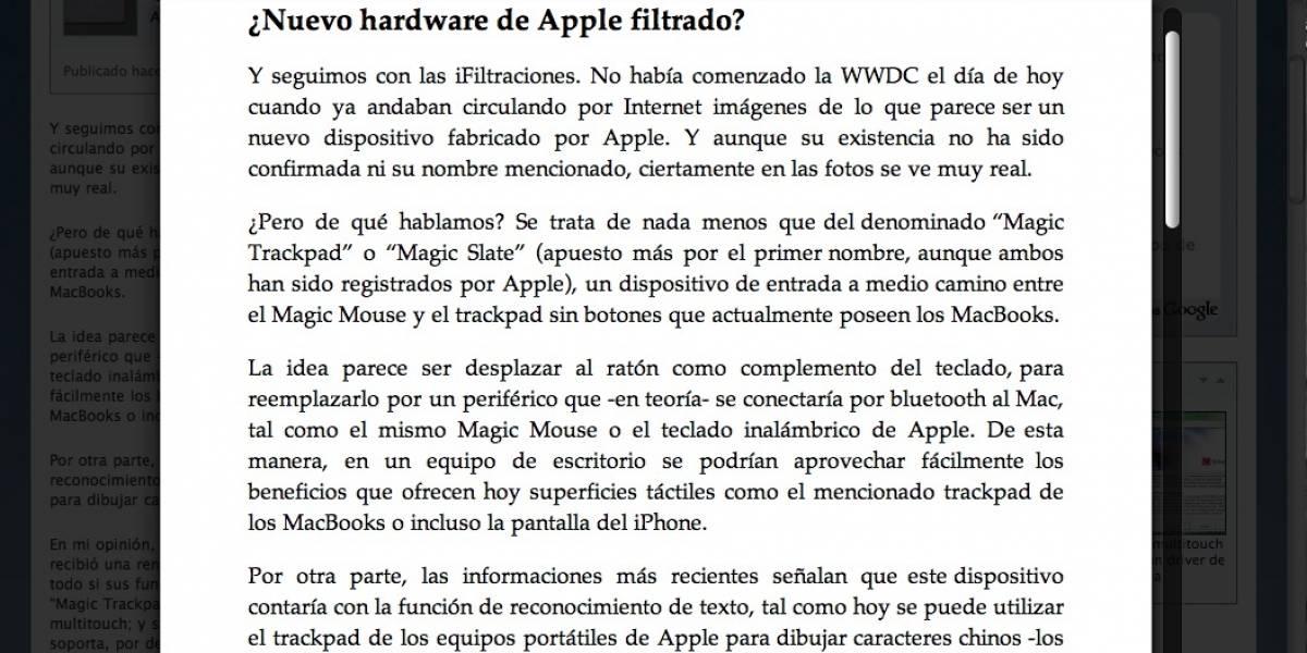 WWDC10: Safari 5 sale del horno y es puesto a prueba