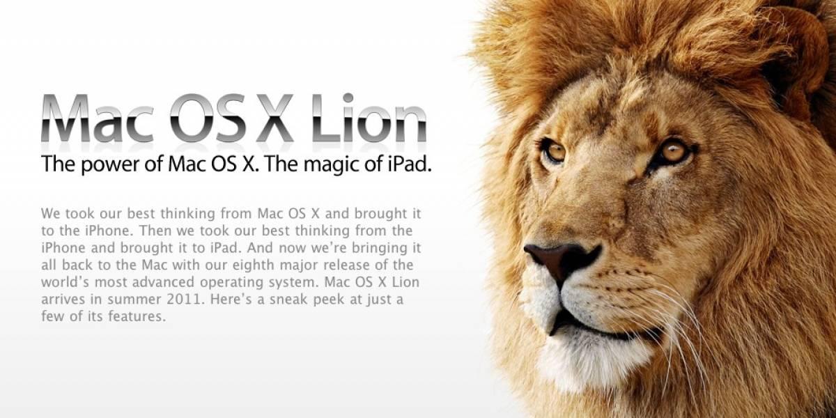 Apple presenta iLife 11, FaceTime en Mac y una previa de OS X Lion (Parte I)