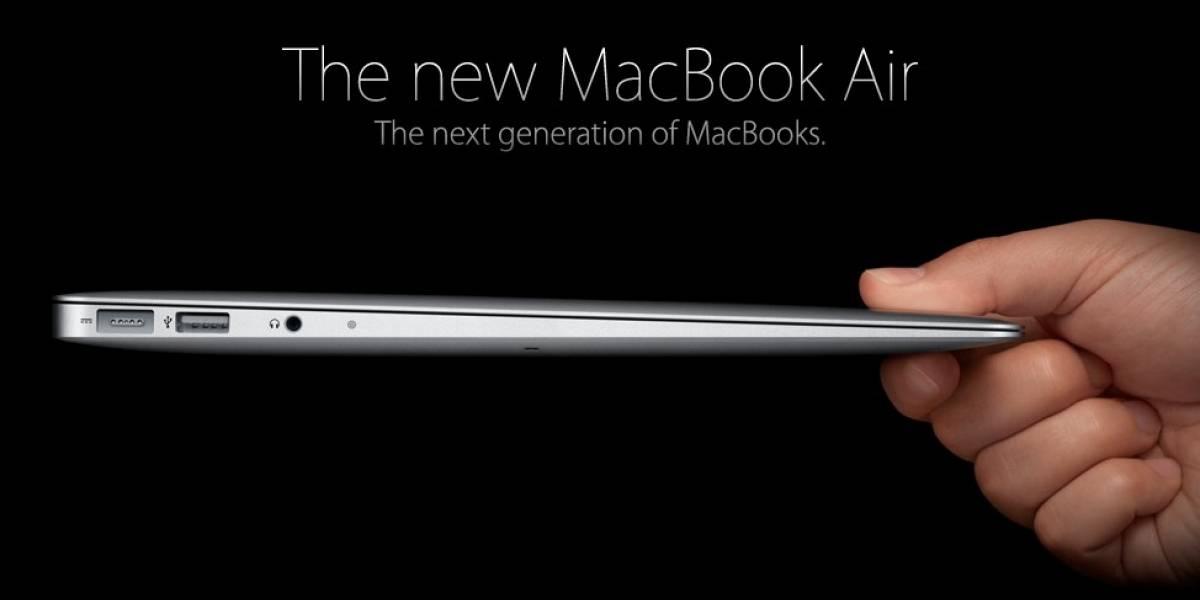 Apple introduce nuevos modelos de MacBook Air (Parte II)
