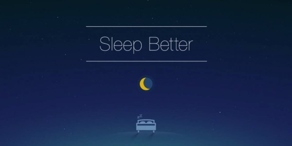 Monitorea cómo duermes en las noches con Runtastic Sleep Better [App del Día]