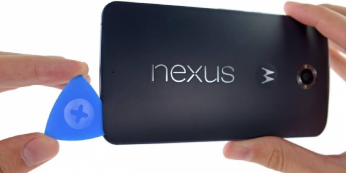 iFixit muestra el interior del Google Nexus 6