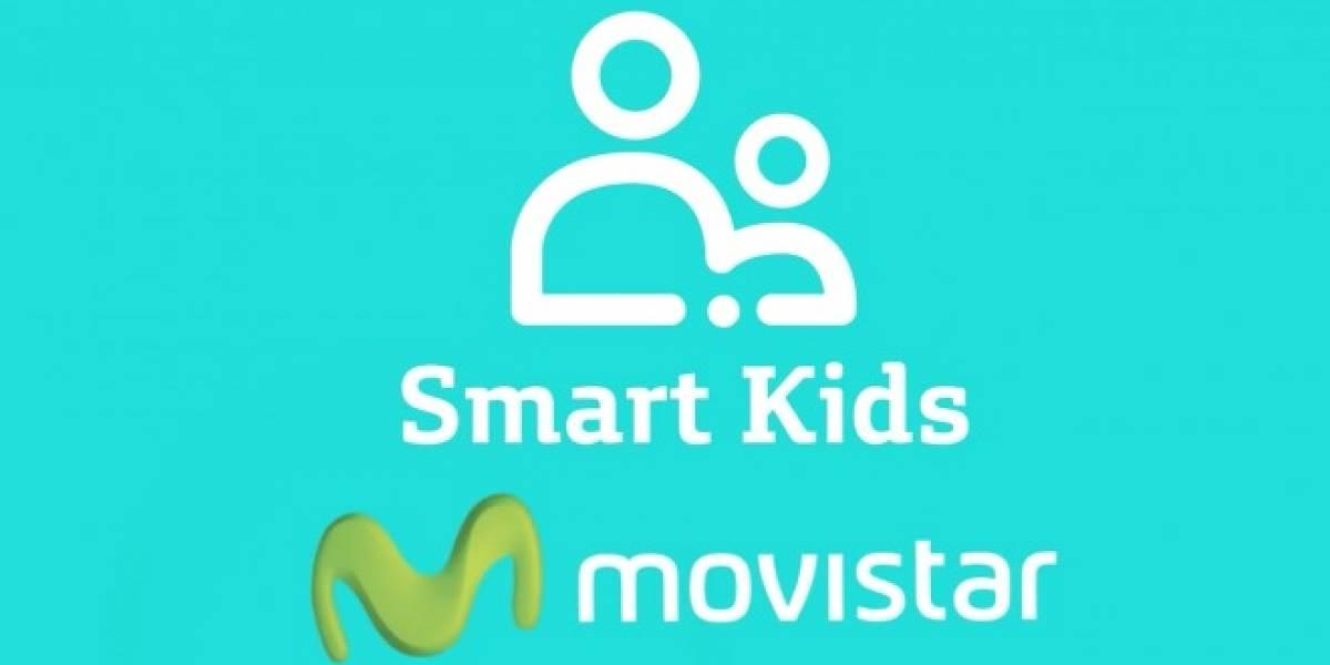 Movistar Chile lanza Smart Kids para controlar el acceso de contenidos en smartphones de niños.