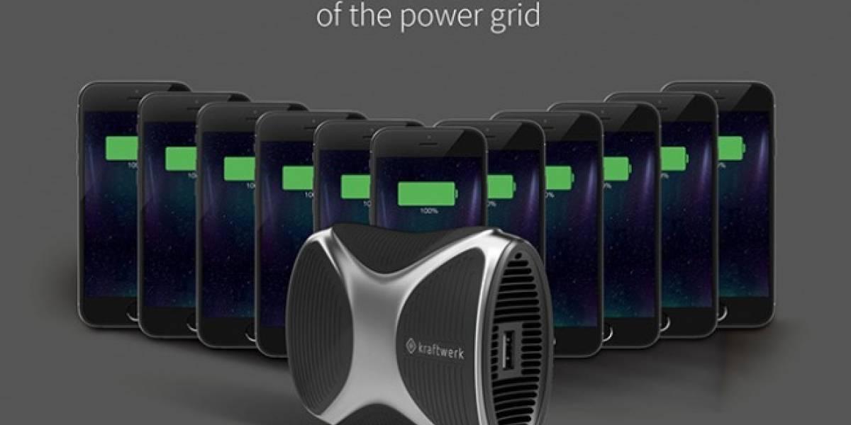 Pronto podrás cargar tu smartphone hasta 11 veces con esta batería externa de gas