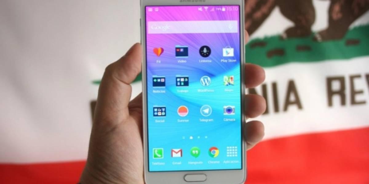 Android Lollipop comienza a llegar al Samsung Galaxy Note 3 y Galaxy Note 4 con procesador Qualcomm