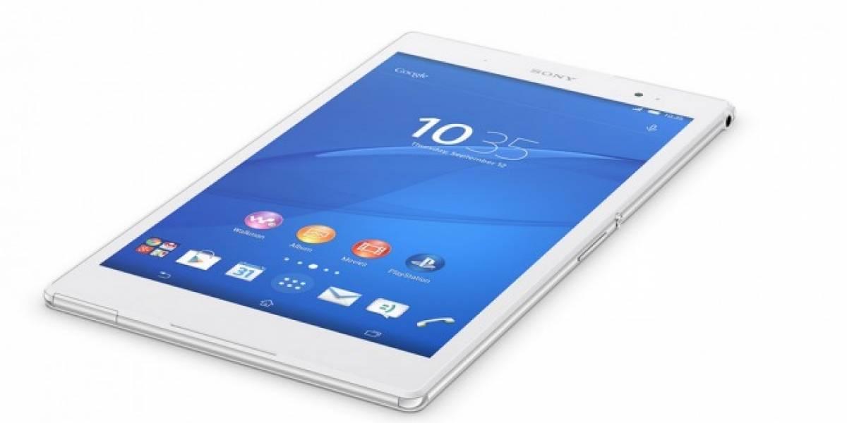 Sony presentará al Xperia Z4 Tablet este 3 de marzo