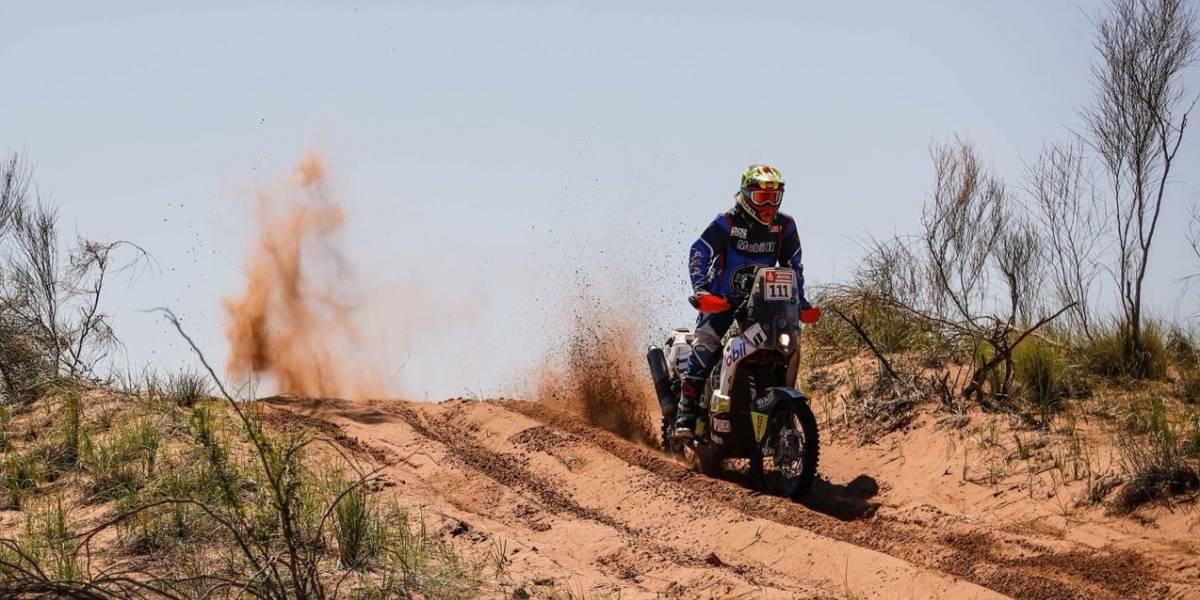 """Santiago Bernal: """"Cumplimos el objetivo de llegar a la meta del Dakar"""""""