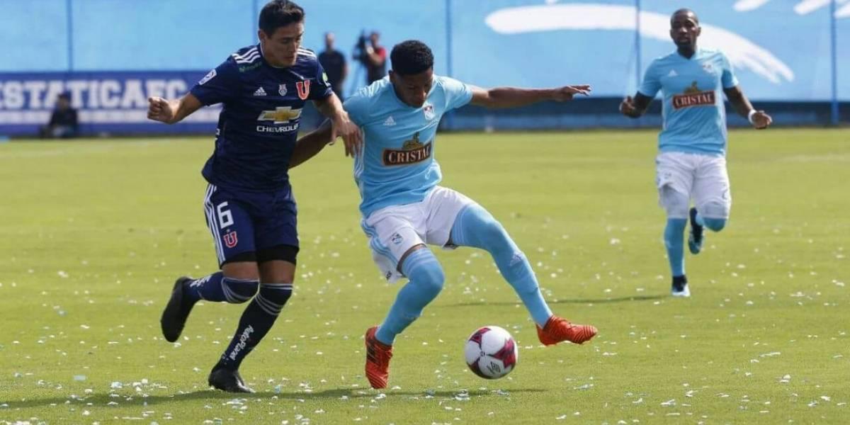 Universidad de Chile no pudo aguantar la ventaja y terminó cayendo ante Sporting Cristal de Mario Salas