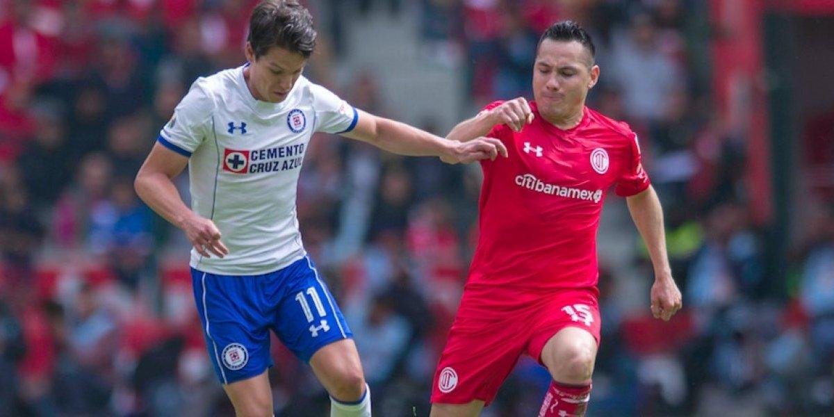 Cruz Azul rescata empate ante Toluca y continúa invicto