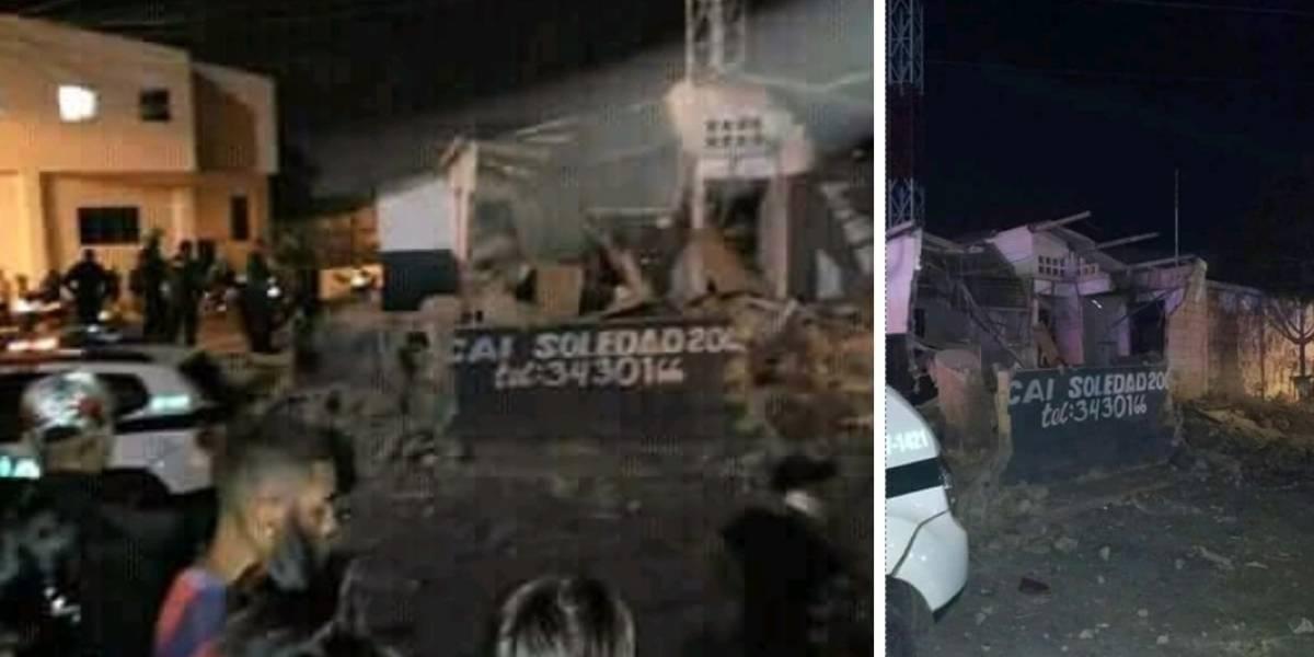 Al menos seis heridos en nuevo ataque contra la Policía en Barranquilla
