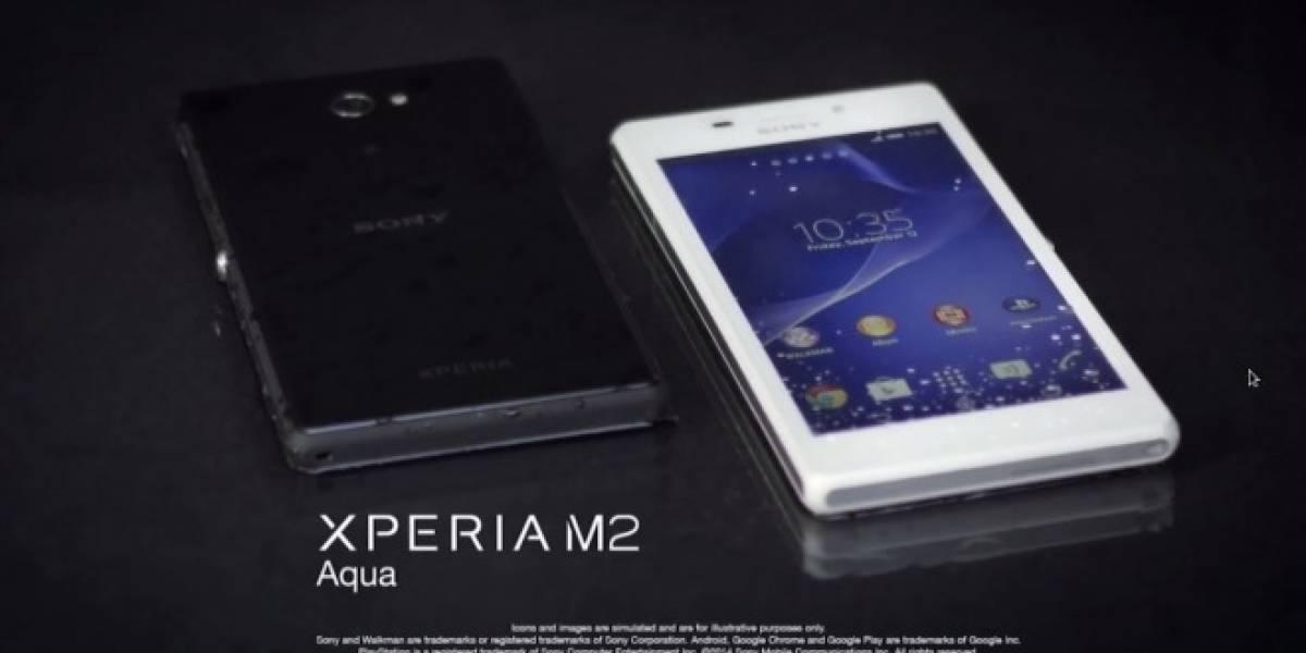 Sony Xperia M2 Aqua, ahora resistente al agua