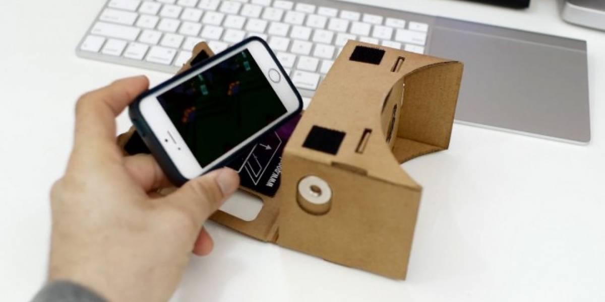 Google Cardboard también puede usarse con un iPhone