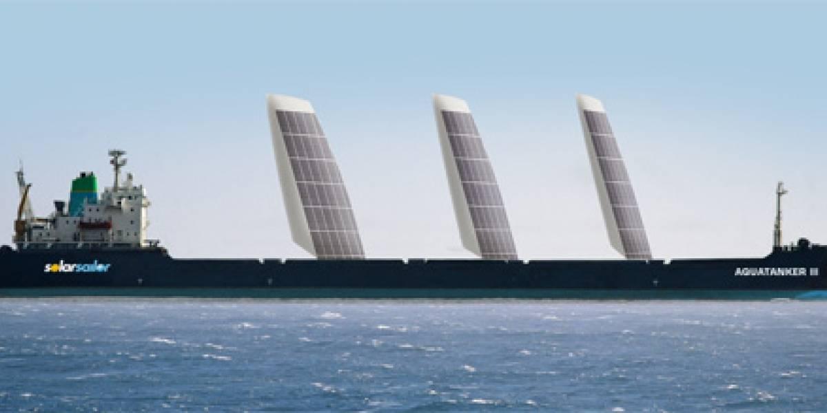 Cargueros chinos combinarán el poder del viento y el sol