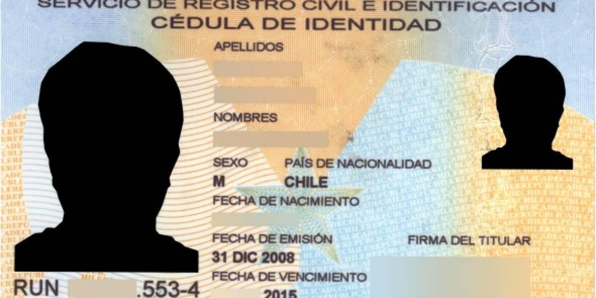 Chile tendrá nueva Cédula de Identidad el 2013