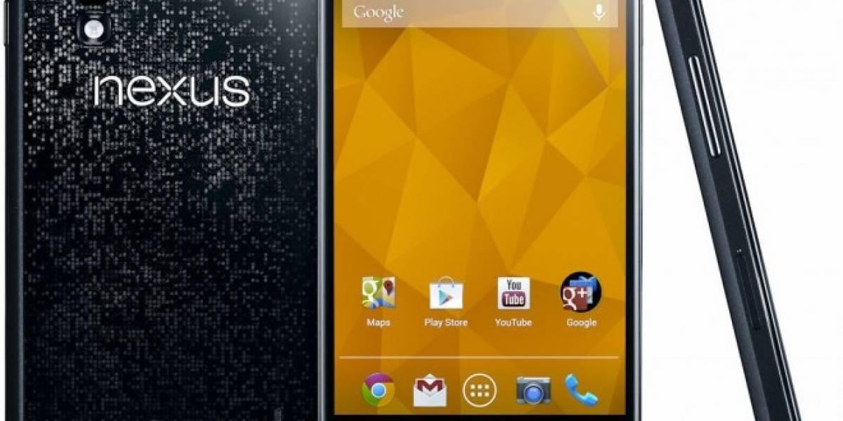 Android Lollipop ya disponible para el Nexus 4