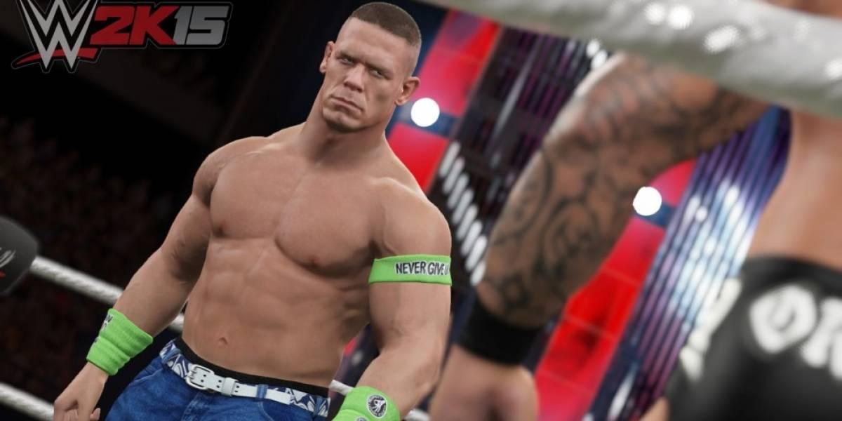 John Cena en la primera imagen de WWE 2K15