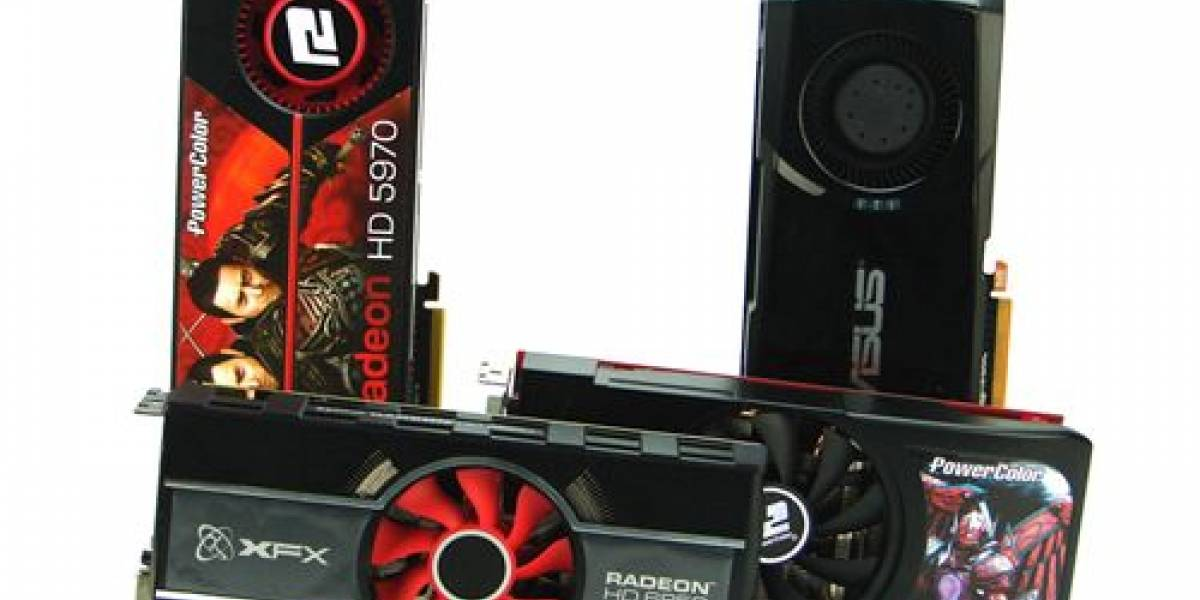 Radeon HD 6850 CrossFireX vs HD 5970 y GTX 580