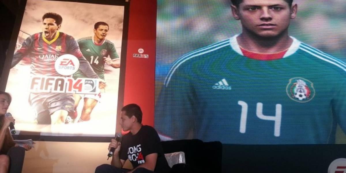 El Chicharito aparecerá en la portada de FIFA 14 para México