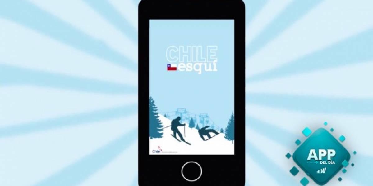 Chile Esquí, obtén en tiempo real la información de las estaciones de esquí