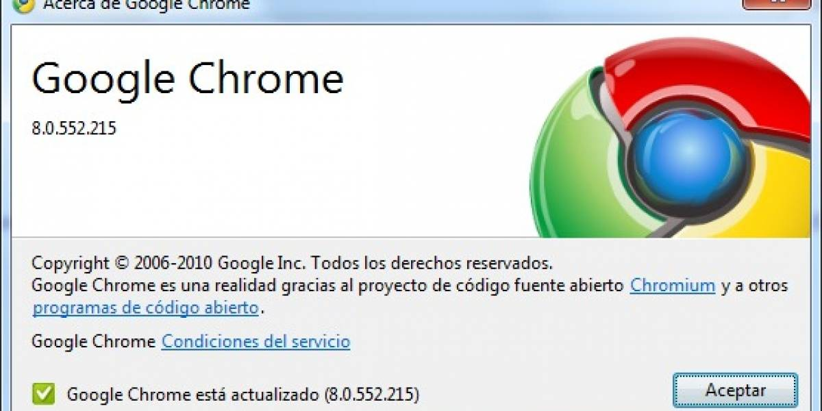 Chrome 8 ya está al aire