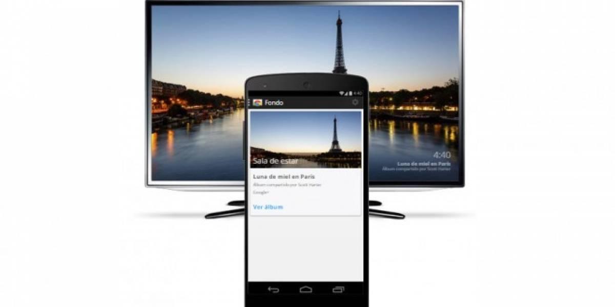 Chromecast se actualiza permitiendo modificar el fondo de pantalla