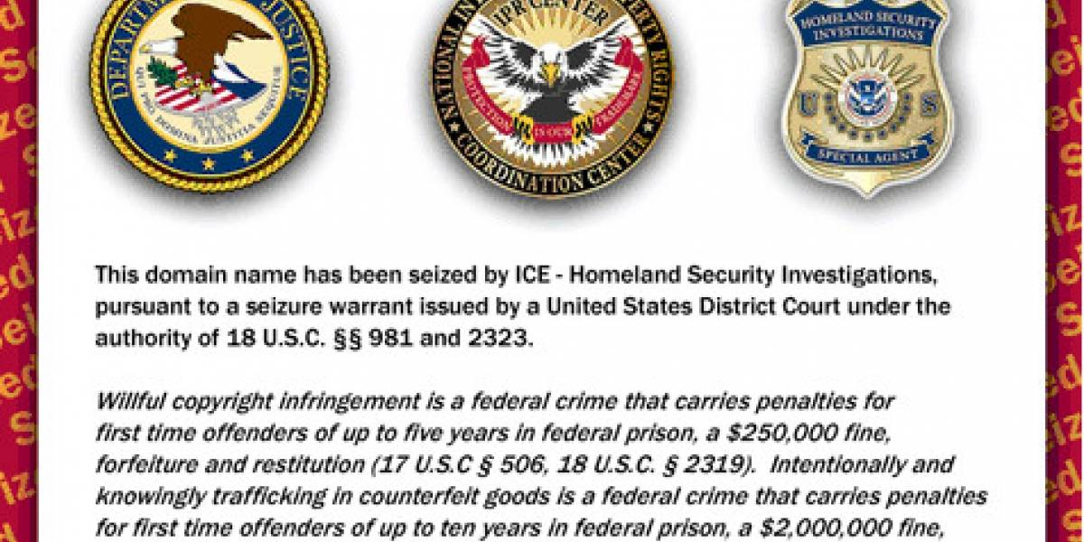 Gobierno de Estados Unidos cierra 70 dominios sin previo aviso
