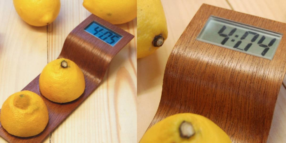 Citrus Clock (requiere un limón, no incluido)