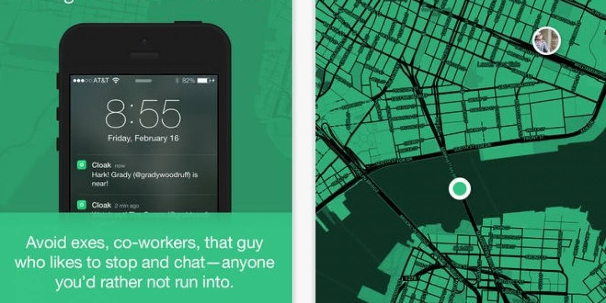 Cloak: La nueva aplicación social que te permite ser antisocial