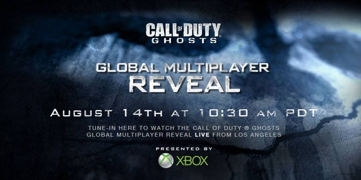Multijugador de Call of Duty: Ghosts será revelado el 14 de agosto