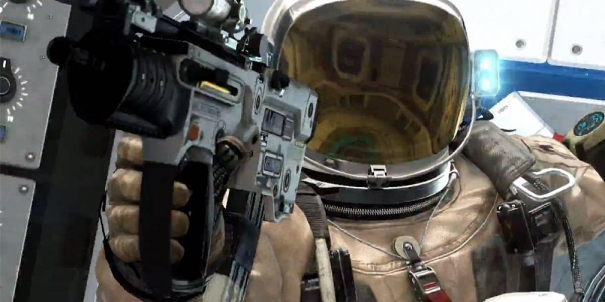Misiones espaciales en el nuevo tráiler de Call of Duty: Ghosts