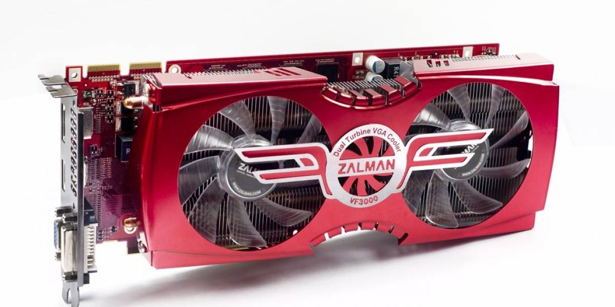 ColorFire Radeon HD 6850: Zalman VF-3000 y soporte Quad CrossFireX