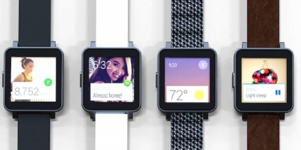 Google impide proyecto de smartwatches con Android Wear en Indiegogo