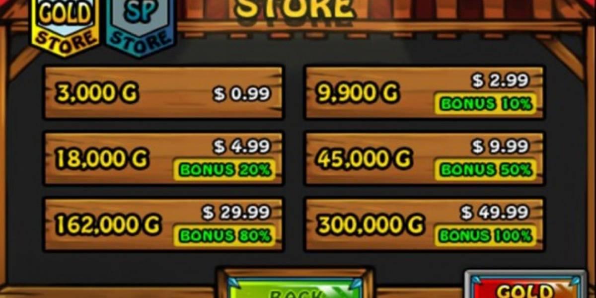 Menos del 1% efectúa compras dentro de las aplicaciones