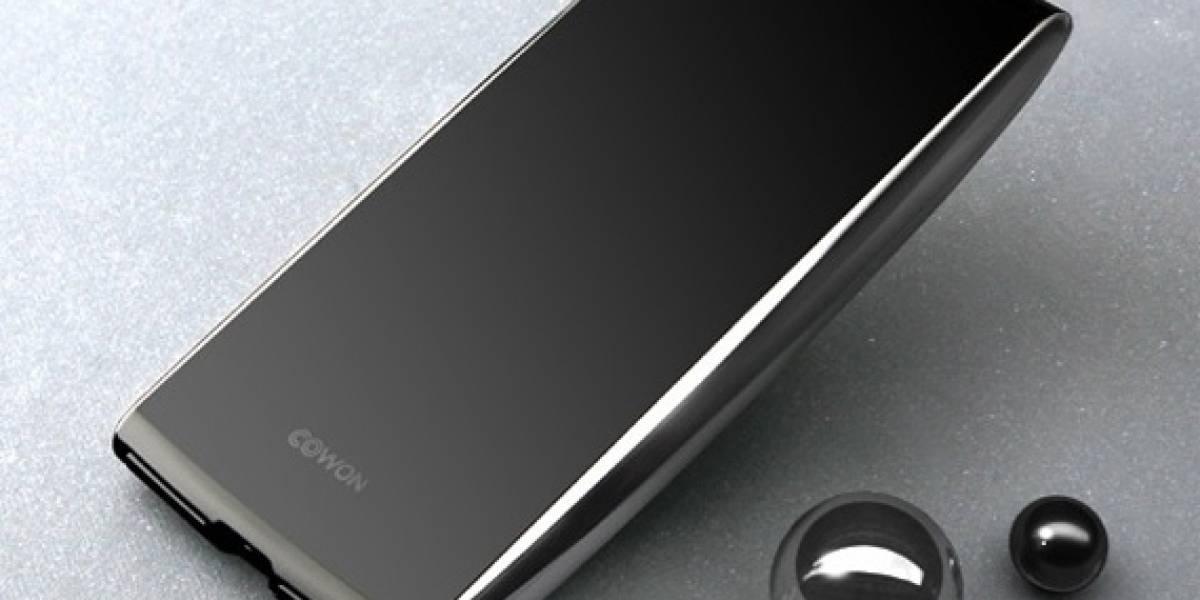 Cowon S9 Curve, PMP monolítico y estilizado