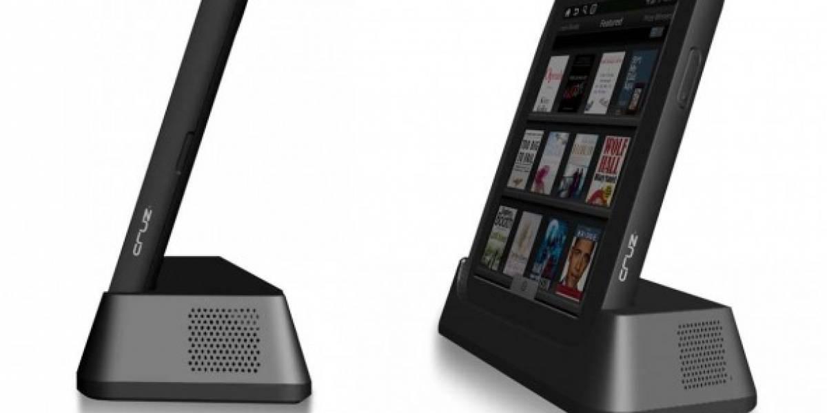 Velocity Micro Cruz: Tablet y reader basados en Android por USD$199/USD$299