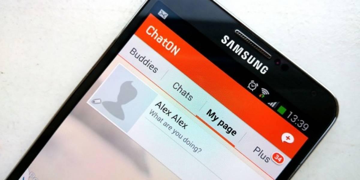 Samsung reconoce que cerrará ChatOn