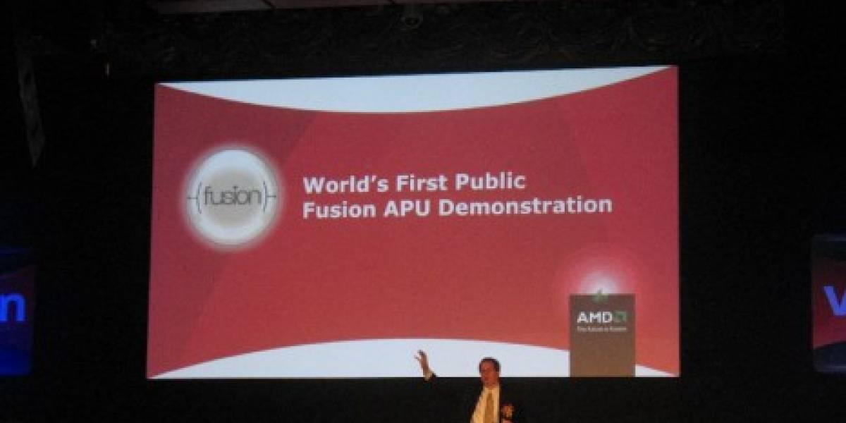 Vimos AMD Fusion... bueno, casi