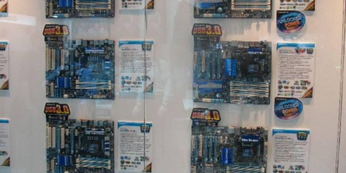 CTX2010: Stand de Gigabyte en fotos
