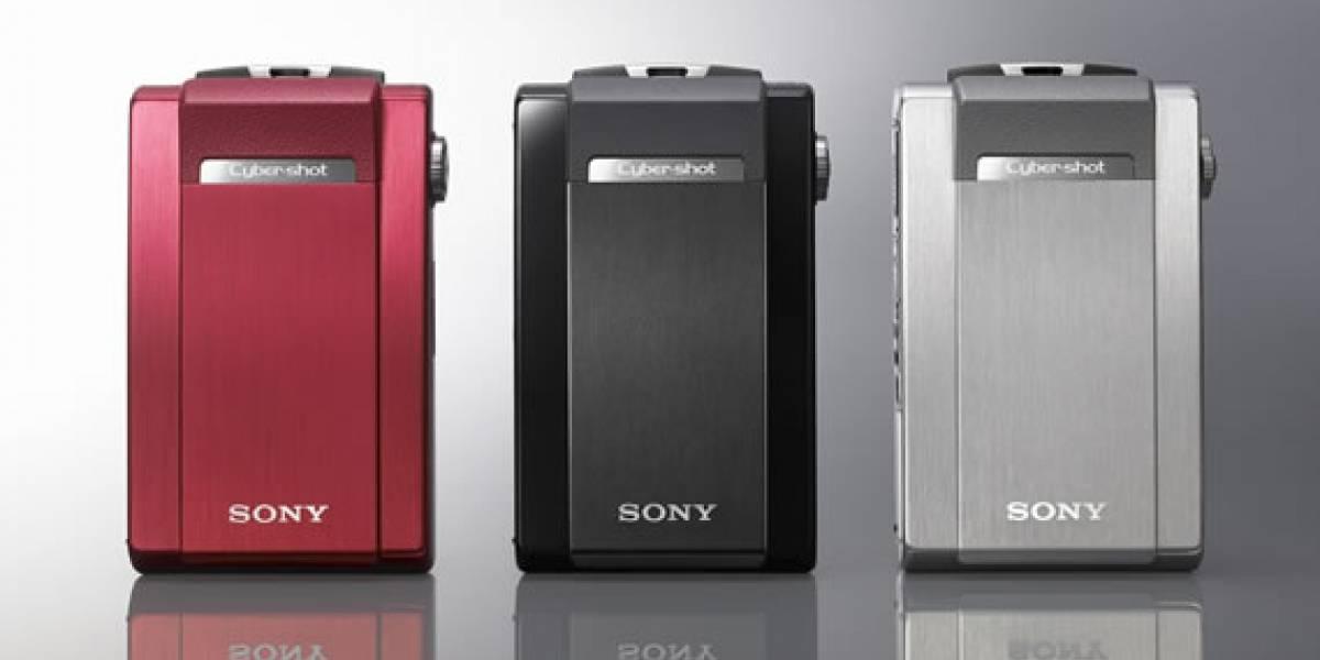 T500: Nueva CyberShot de Sony con HD a 720p